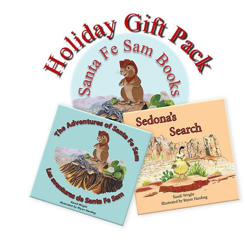 2-Book Combo Pack - Sedona's Search and Santa Fe Sam (English or Bilingual)