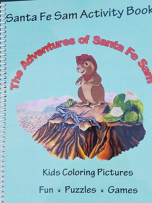 Santa Fe Sam Activity and Coloring Book