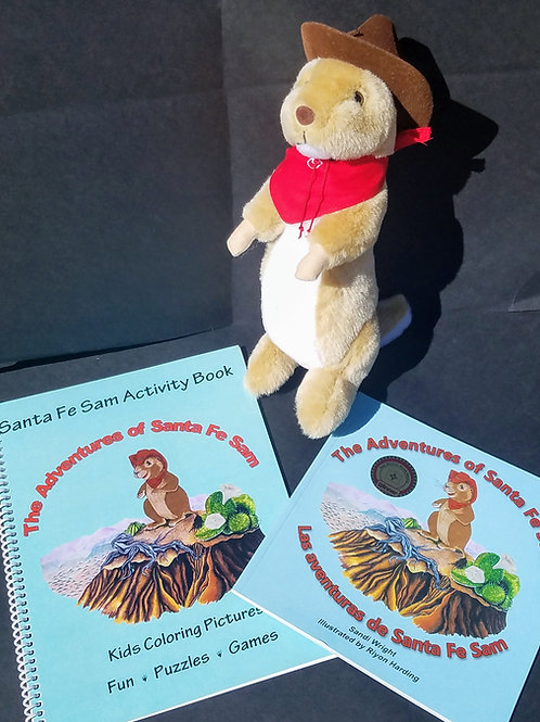 Combo Pack: Book, Plush Toy and Activity Book