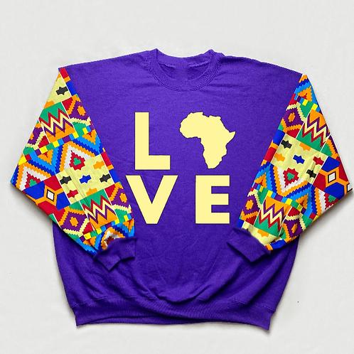 (Purple/Tan) Love Africa