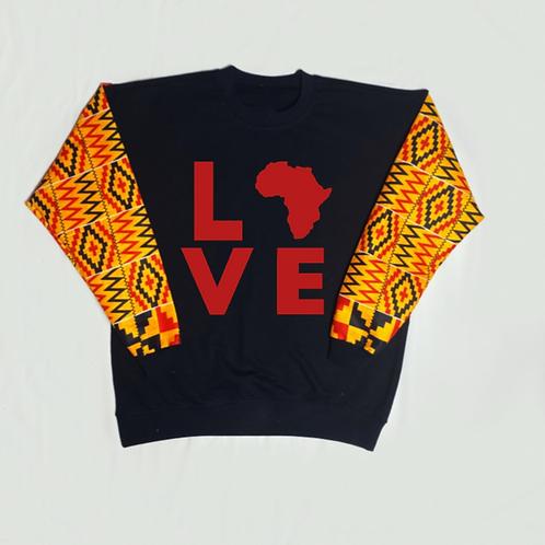 (Mustard Yellow/Red) Love Africa