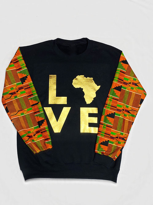 (Black/Gold) Love Africa