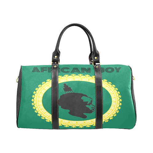 African Boy Large Travel Bag