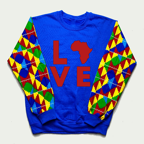 (Blue/Red) Love Africa