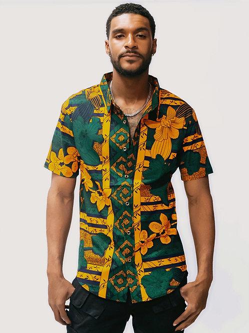 Durban African Print Shirt