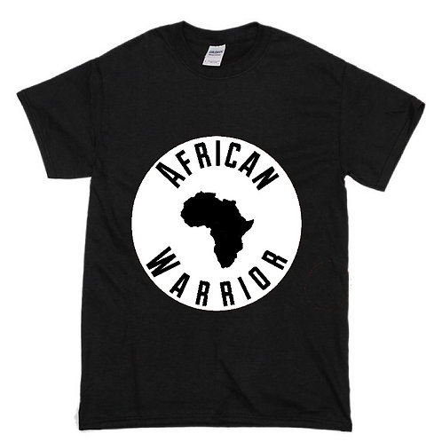 Kids Tee Shirt African Warrior (Color Options)