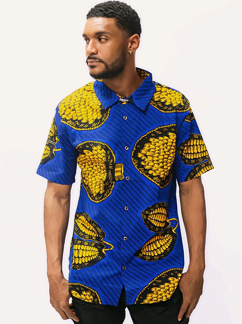 Abuja African Print Shirt