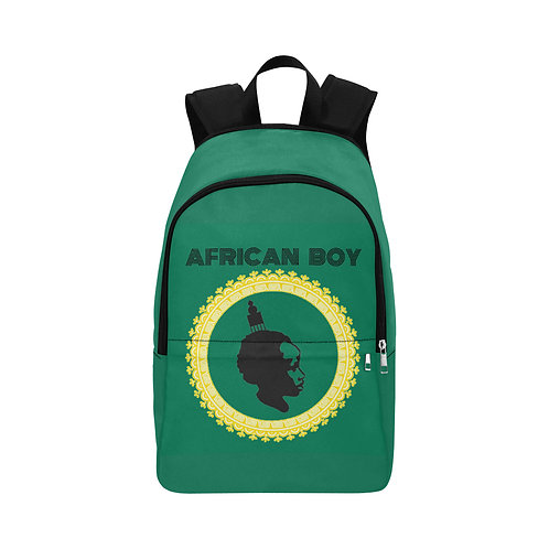 African Boy Backpack