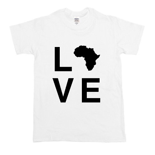 Kids Love Africa T-Shirt (Color Options)