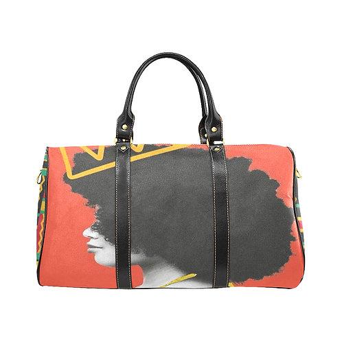 Afro Love Large Travel Bag
