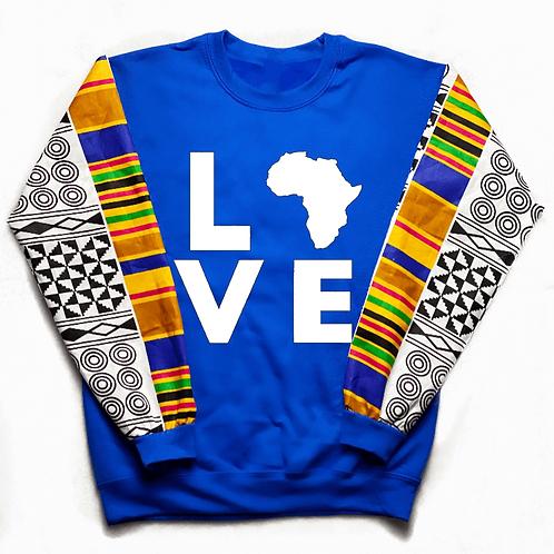 (Blue/White) Love Africa