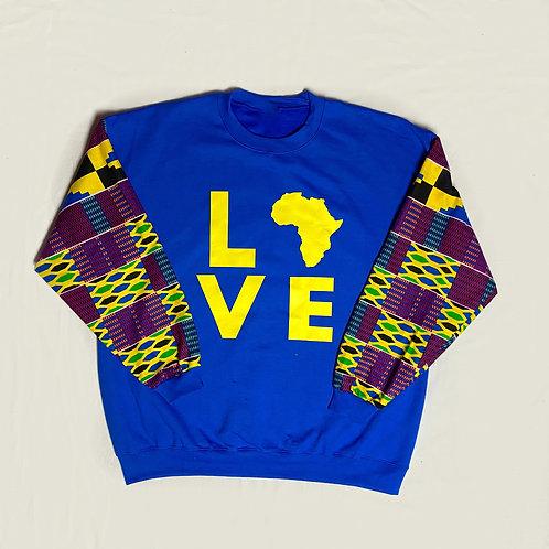 (Blue/Purple) Love Africa