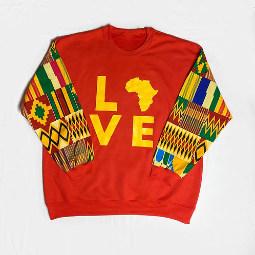 Red/Yellow) Love Africa