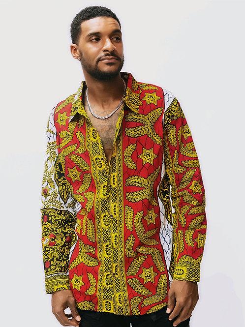 Lagos African Print Shirt