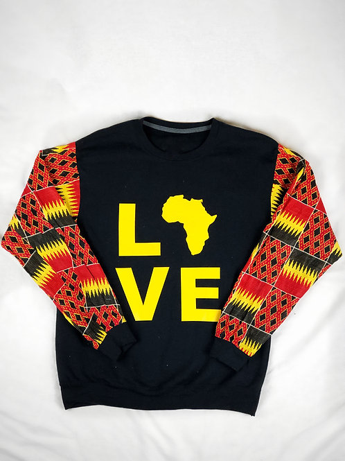 (Black) Love Africa Sweater