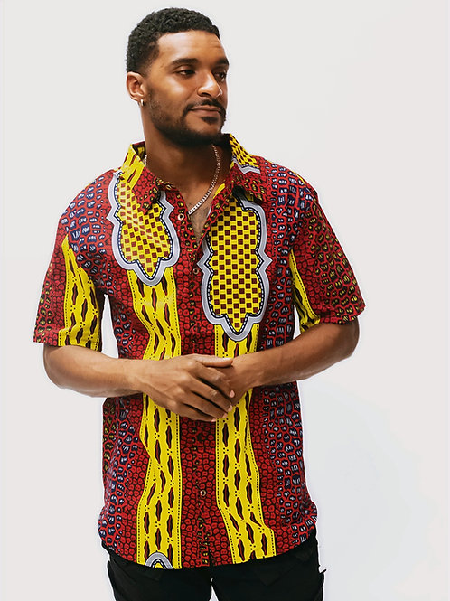 Cape Town African Print Shirt