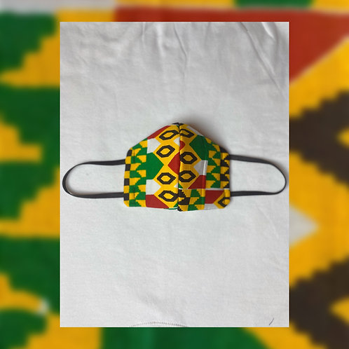 Face Mask(Green Yellow Red)