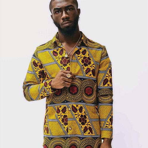 Cairo African Print Shirt