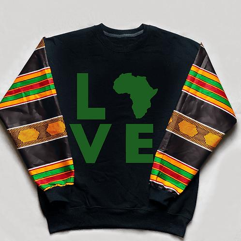 (Black/Green) Love Africa
