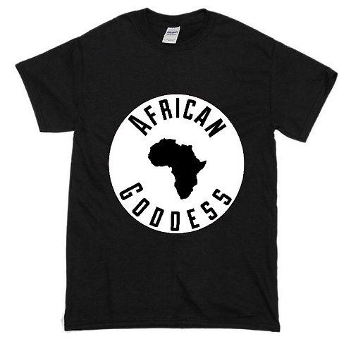 Kids T Shirt African Goddess (Color Options)