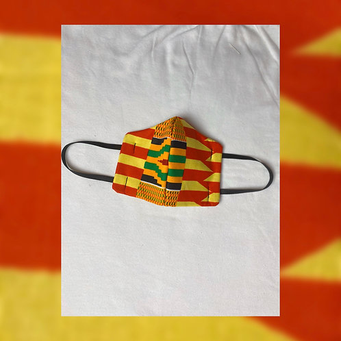 Face Mask (Kente Fabric)