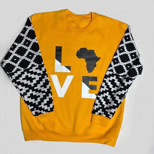 (Yellow/Black) Love Africa