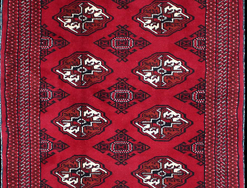 33182/トルクメン幾何連続文絨毯