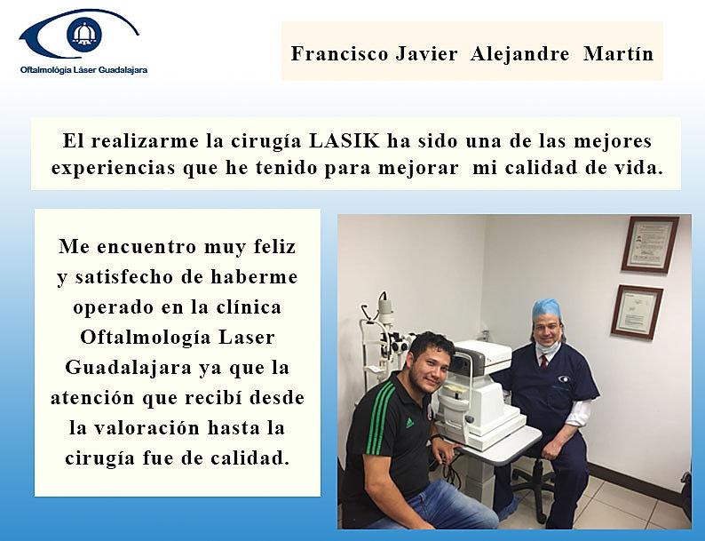 Tetimonio de paciente al ser operdo en oftalmologia laser guadalajara