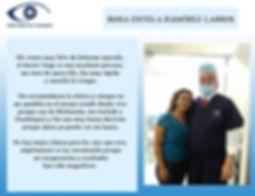 paciente feliz tras haerse realzado la cirugía lasik en Oftalmologia laser guadalajara