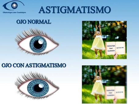 Astigmatismo, ¿Qué es, causas y como se corrige?