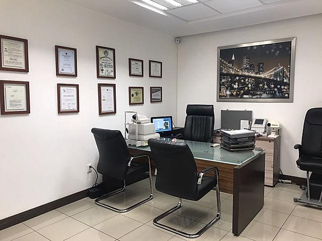 Consultorio del dr. Oftalmologo grandos en Oftalmologia Láser Guadalajara