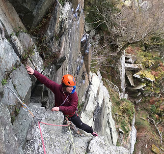 Lake District Rock Climbing Guiding