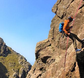 Scrambling Course Lake District