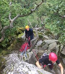 Learn to lead rock climbing