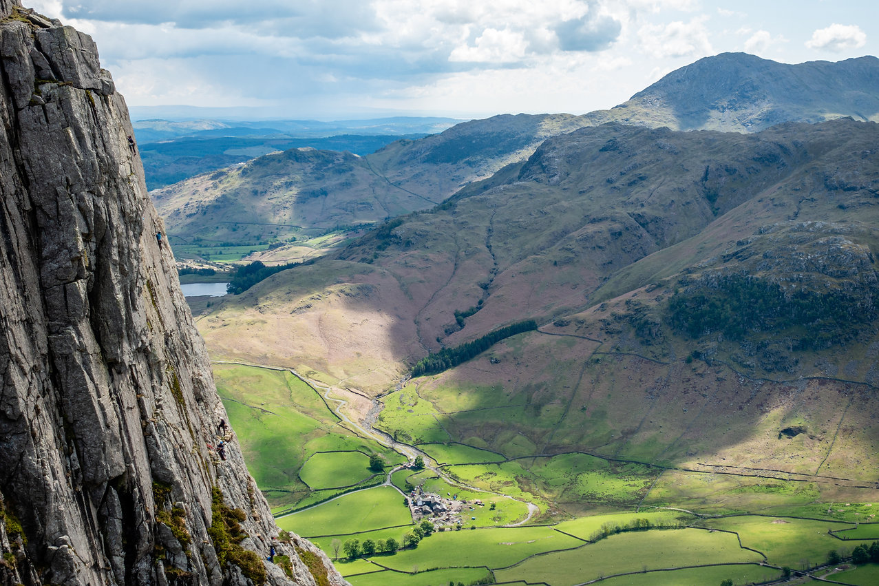 Landgdale Raven and Gimmer Crag - Open Ascents - Mountain Activity Specialists
