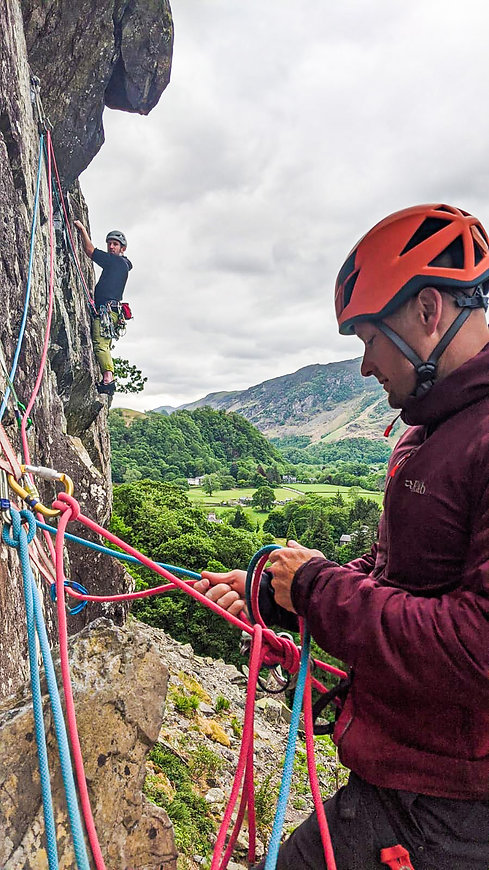 Lake District Intro To Climbing