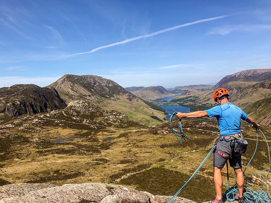 Climbing Courses in Lake District Open Ascents - Mountain Activity Specialists