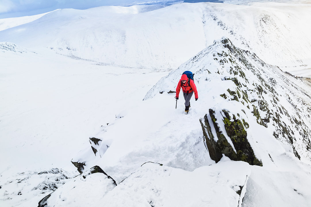 Winter Skills Course in the Lake District with Open Ascents - Mountain Activity Specialists