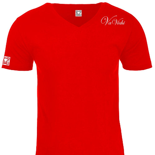 VaVichi Royalty Accent Tee V-Neck or Crew