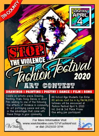 Art Contest Submissions for Tri County STV Fashion Festival