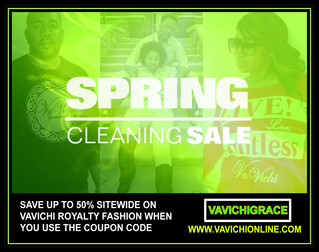 VaVichi's Spring Cleaning Sale