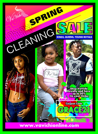 VaVichi Spring Cleaning Sale