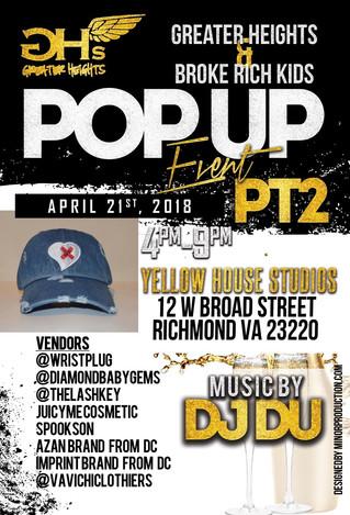 VaVichi Clothiers Featured in Richmond VA, Pop Up Shop Event
