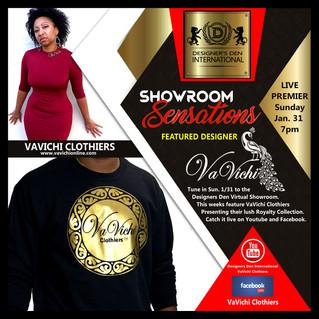 Sunday 1/31 VaVichi Featured on Designers Den