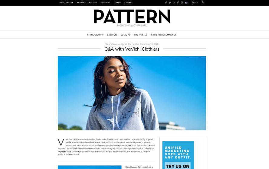 Pattern Magazine Article