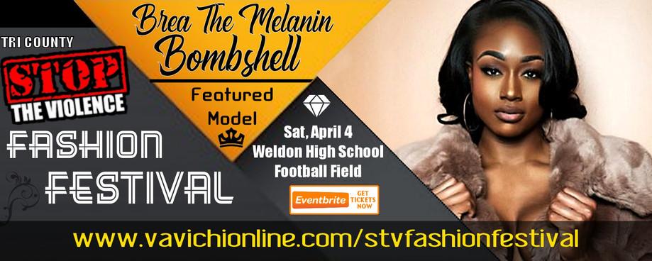 Brea The Melanin Bombshell