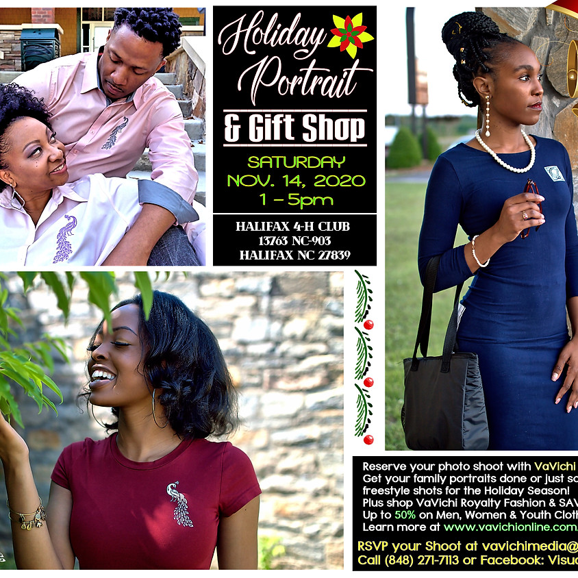 Holiday Portrait & Gift Shop