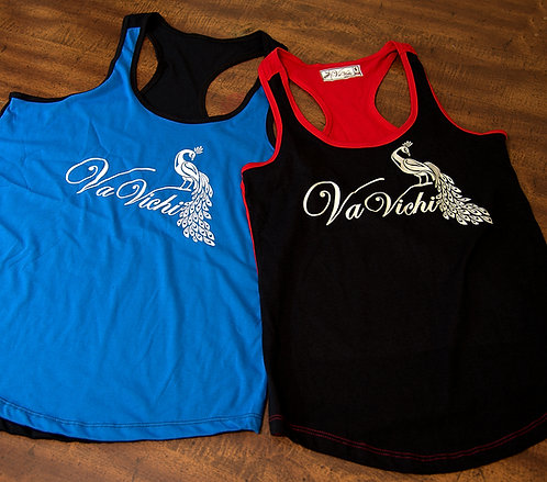 Womens VaVichi Infinite 2 tone tanks
