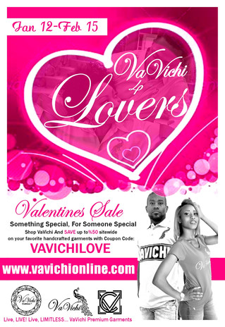 VaVichi 4 LOVERS Valentines Sale