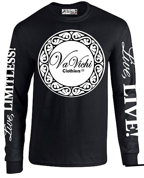 Men's VaVichi King long sleeve tee shirt
